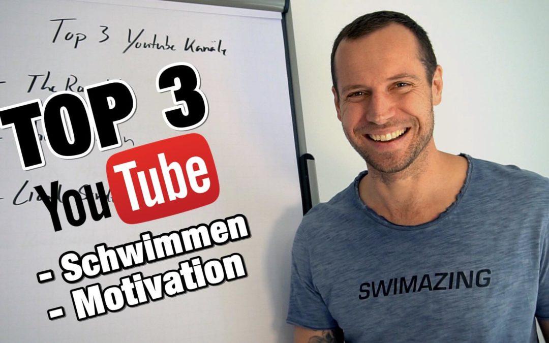 Tatort YouTube: Unsere Top 3 YouTube-Kanäle für Schwimmcontent!