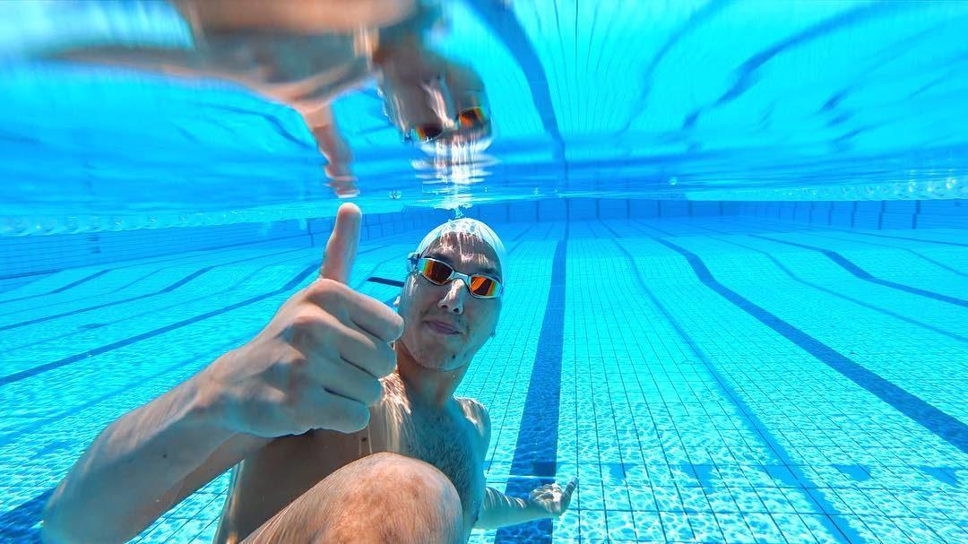 Feier die kleinen Erfolge (im Schwimmtraining)